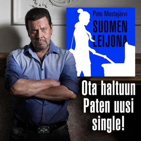 SUOMEN LEIJONA ON TOINEN SINGLEJULKAISU PATEN 2018 -LEVYLTÄ